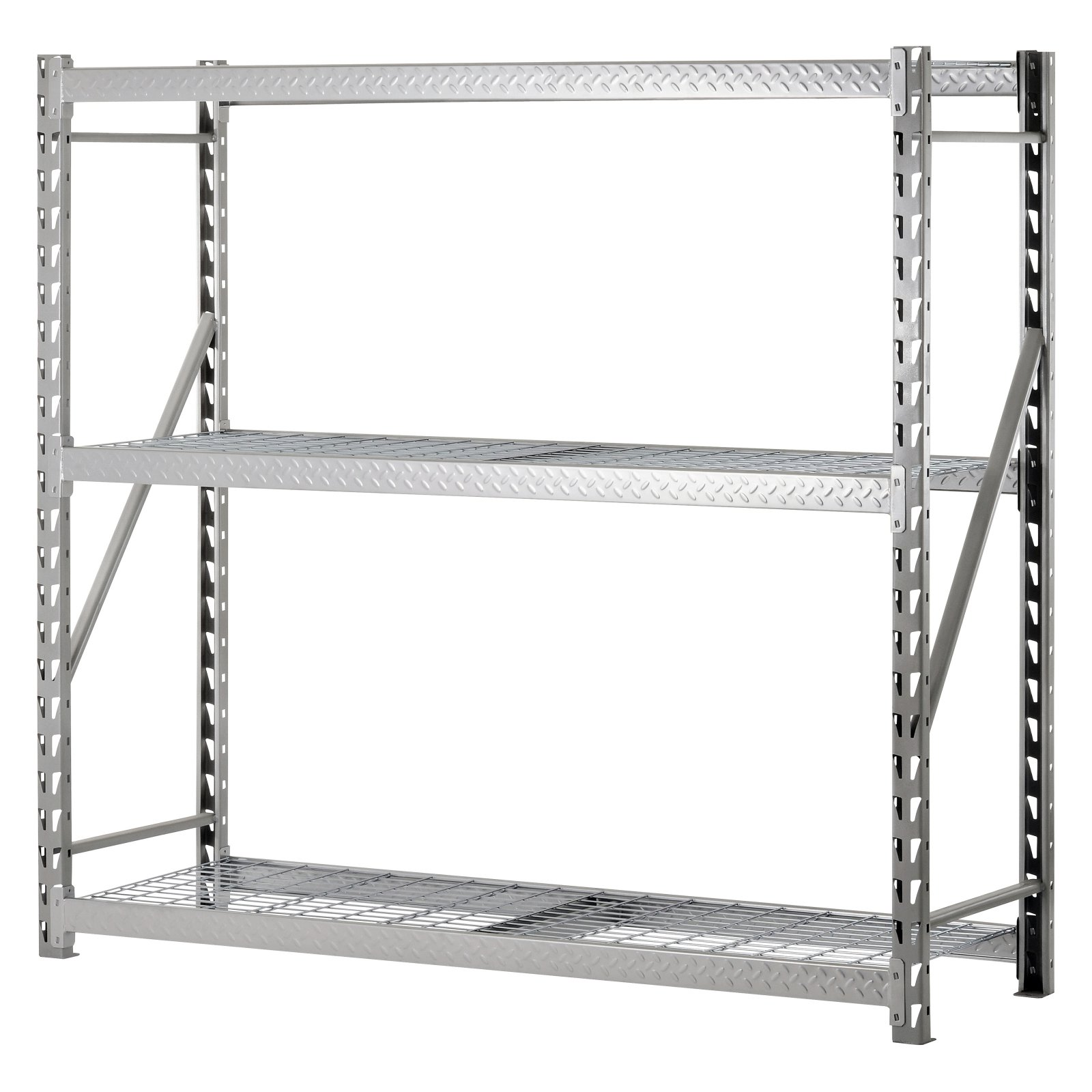 SANDUSKY LEE TP722472W3 Bulk Storage Rack, Steel, 3600 lb., Silver