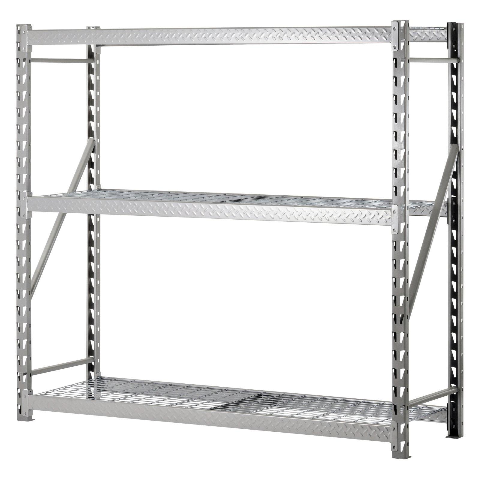 SANDUSKY LEE TP722472W3 Bulk Storage Rack, Steel, 3600 lb., Silver