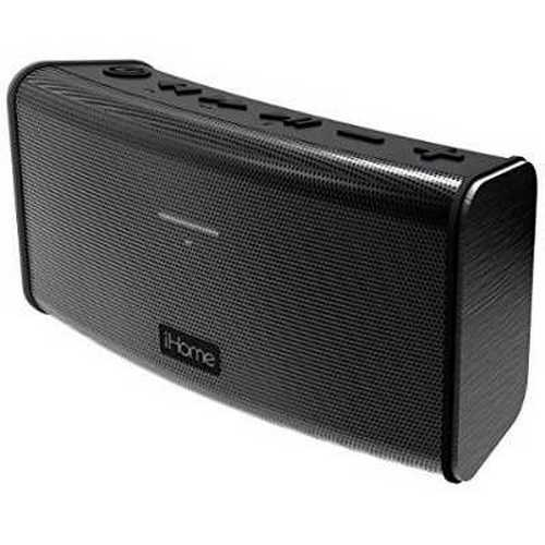 Refurbished iHome Rechargeable Splash Proof Stereo Bluetooth Speaker - Black (IBT33BC)
