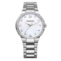Deals on Swarovski Womens 38mm City Mother of Pearl Dial Watch Open Box