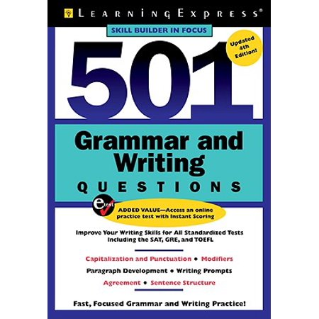 501 Grammar And Writing Questions Fast Focused Practice Walmart