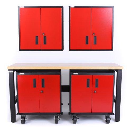 Geneva 5 Piece Set with 2 Drawer Base Cabinet