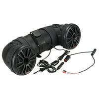 Motorcycle Speakers | BOSS Audio ATV25B ATV/UTV Sound System, Bluetooth.