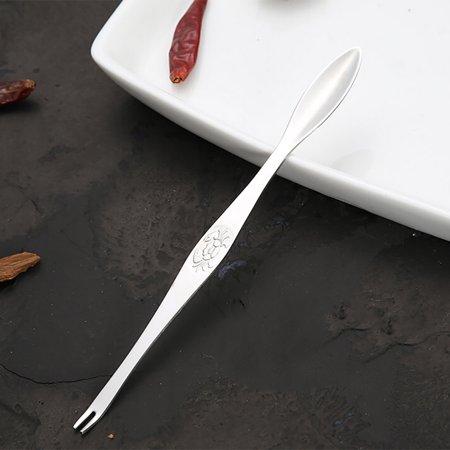 iLH Mallroom Practical Seafood Crab Lobster Fork Picks Handy Helper Nutcracker Needle ()