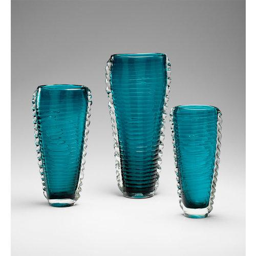 cyan design 04781 accents home decor vases cyan blue cyan design hampden etageres set of 2 transitional