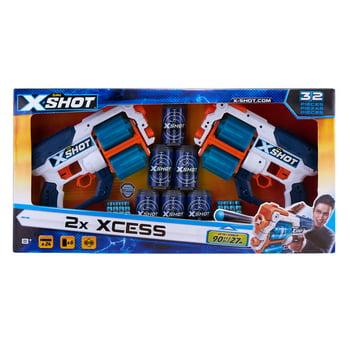 X-Shot Excel Double Xcess Foam Dart Blaster