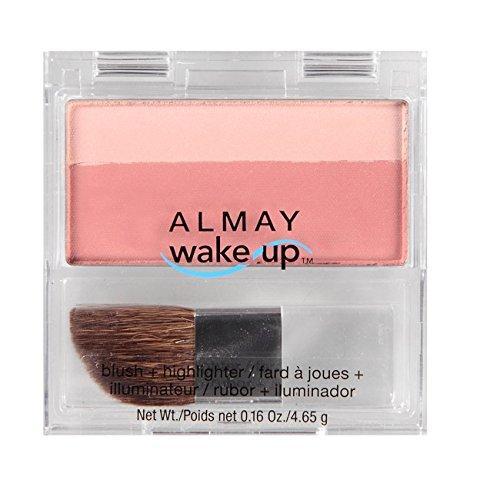 almay blush + highlighter, rose 020 0.16 oz (4.65 g)