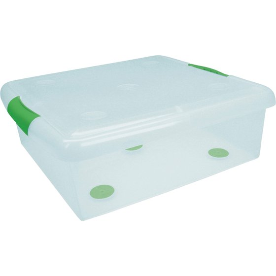 I.R.I.S. Stor N Slide Plastic Underbed Storage Box