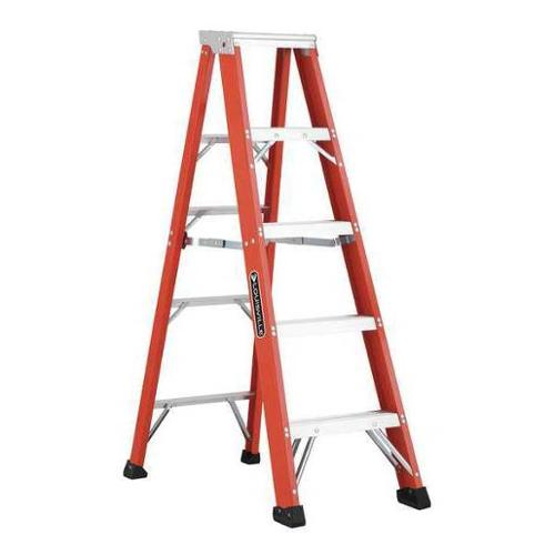 Louisville 5 ft. Fiberglass Stepladder , FS1305HD