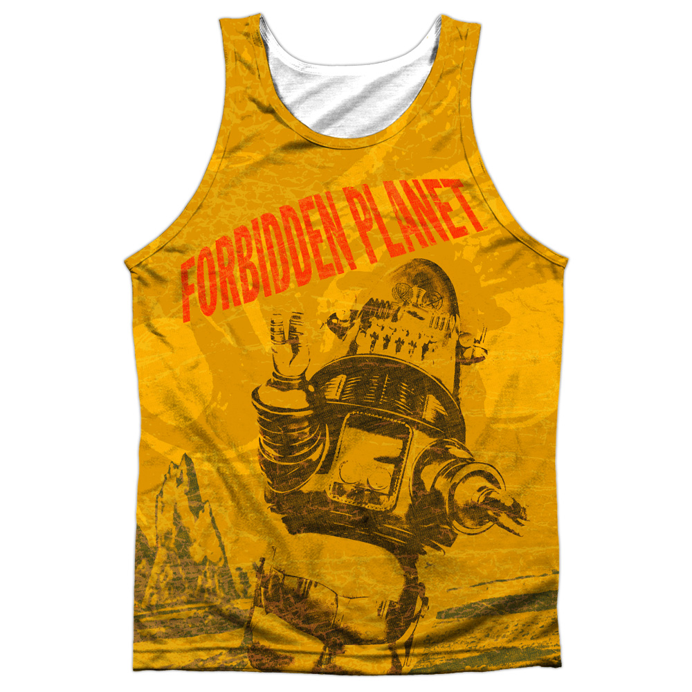 Forbidden Planet Strang World Mens Sublimation Tank Top Shirt