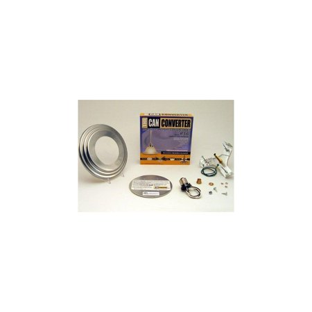 the can converter r56 satin nickel recessed can light conversion kit for 5 and 6 recessed can lights