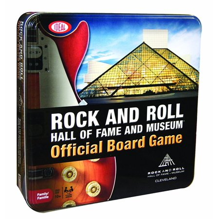 Rock And Roll Games >> Ideal Classics Rock And Roll Hall Of Fame Board Game