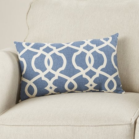 Miraculous Mistana Brennan Cotton Lumbar Throw Pillow Walmart Com Evergreenethics Interior Chair Design Evergreenethicsorg