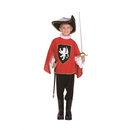 Musketeer Boy Costume (Lion)