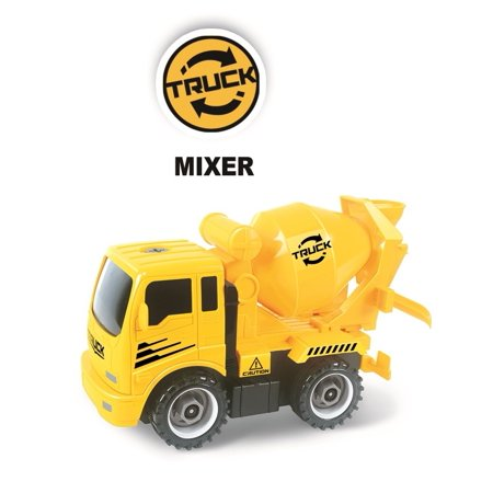 Construct A Truck - Mixer. Take it apart & put it back together + Friction powered(like 2-toys-in-1!) Awesome award winning toy that encourages - Mixer Truck