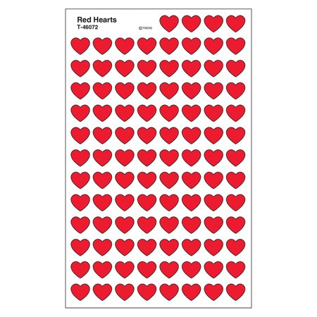 SUPERSHAPES STICKERS RED HEARTS](Heart Stickers)