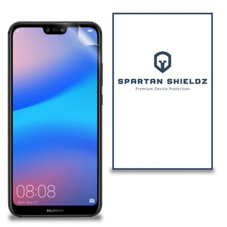 6X - Spartan Shield Premium HD Screen Protector For Huawei Nova 3e - 6X - Spartan Shield Design