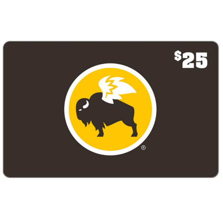 Buffalo Wild Wings $25 Gift Card (email delivery)
