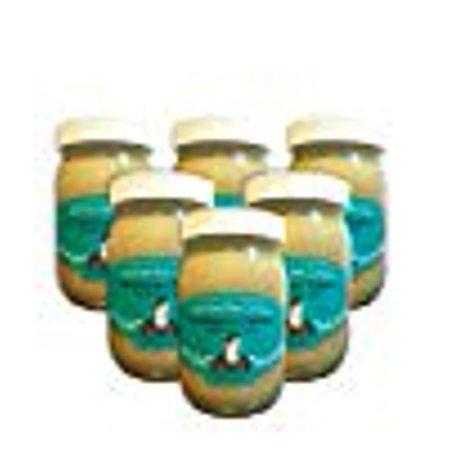 Shirley Bar Living Ethiopian Tahini, Kosher tahini dressing, Vegan tahini, Raw tahini - The Best Tasting Tahini sesame paste, amazing sauce! Pure Ground 100% Ethiopian Sesame seeds, 1 LB (6