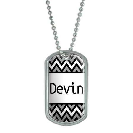 Male Names   Devin   Dog Tag