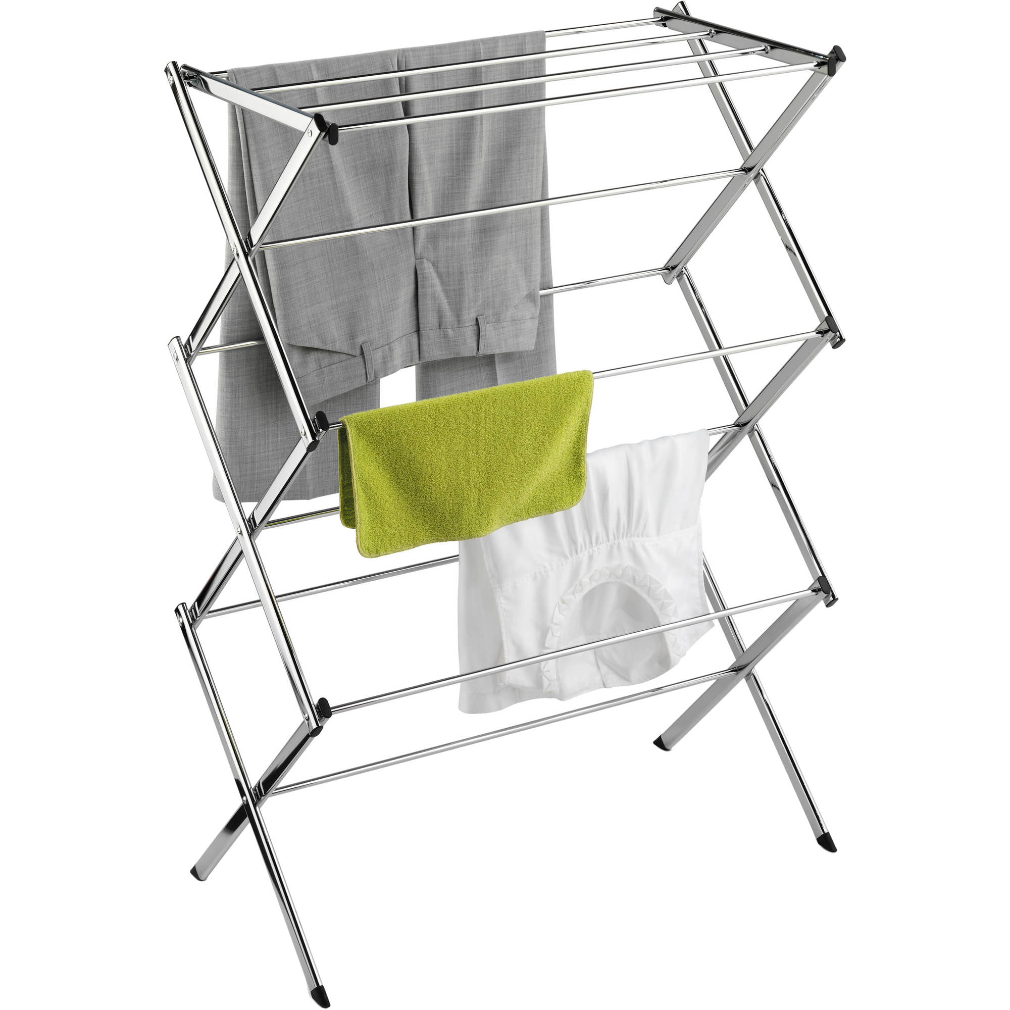 layers hanger bag dia underwear clothes rack basket folding cloth drying item dryer net laundry hanging