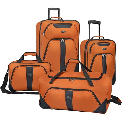 U.S. Traveler 4-Piece Luggage Set