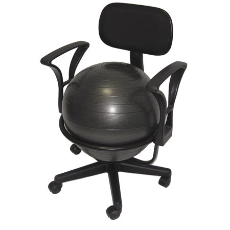 AEROMAT  Ball Chair Deluxe (Best Exercise Ball Chair)