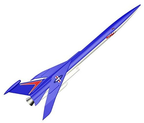 Estes Flying Model Rocket Kit Conquest 7230 Multi-Colored by Estes