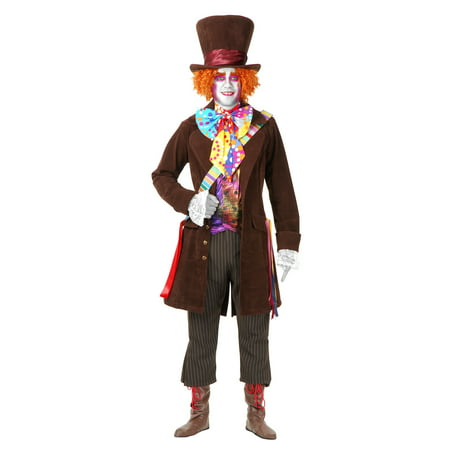 Men's Deluxe Mad Hatter - Party City Mad Hatter Costume