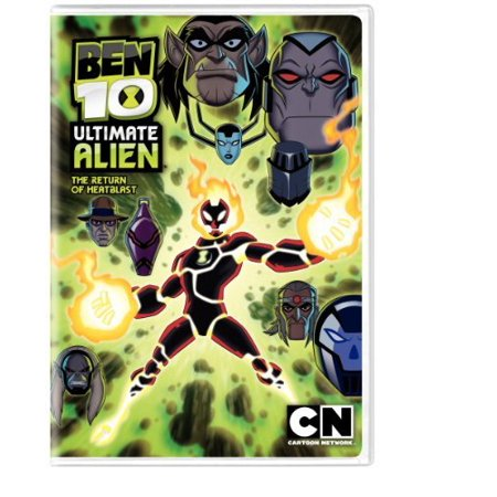 Cartoon Network  Ben 10 Ultimate Alien   The Return Of Heatblast  Widescreen