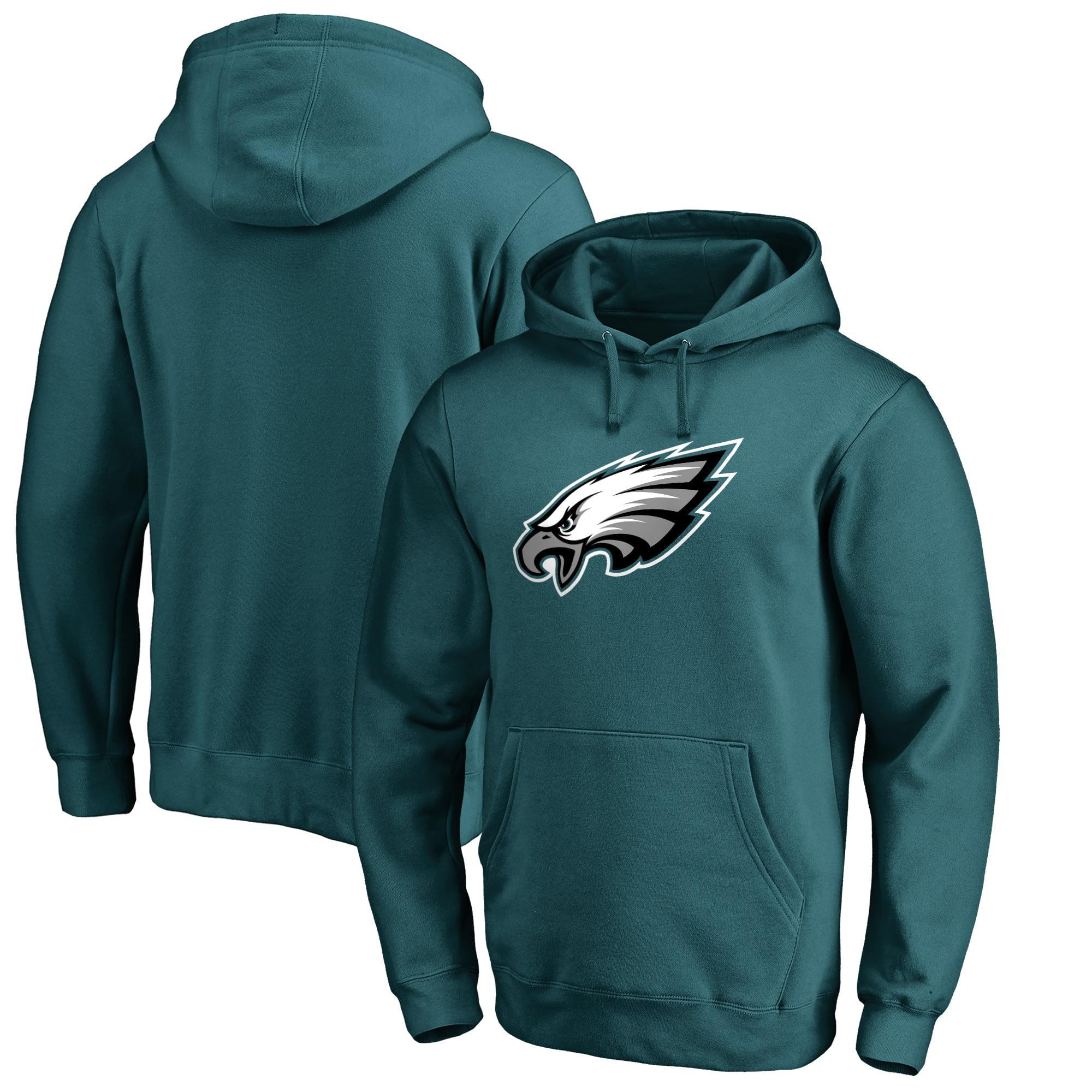 Philadelphia Eagles NFL Pro Line Primary Logo Hoodie - Midnight Green