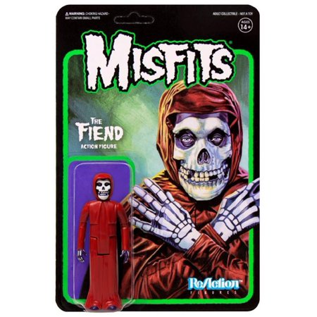 - ReAction Misfits The Fiend Action Figure [Crimson Red]