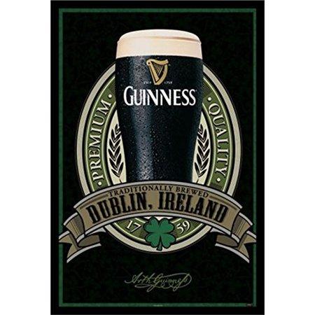 Buy Art For Less Guinness Beer Dublin Ireland Traditional Quality Framed Photographic Print