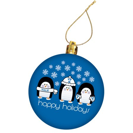 Yale University Holiday Christmas Ornament ()