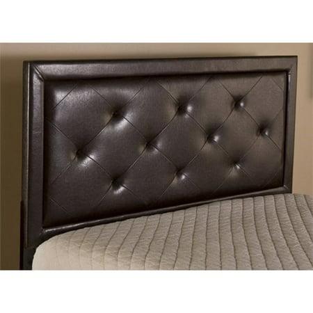 Atlin Designs Tufted Queen Panel Headboard in Brown ()