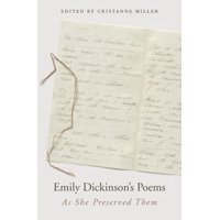 Emily Dickinson's Poems: As She Preserved Them (Hardcover)
