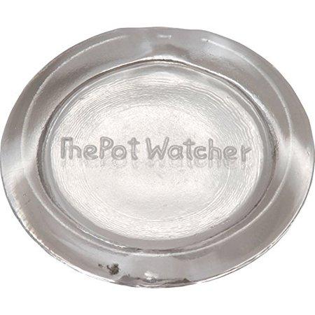 Fox Run Heat-Resistant Rattling Boil Alert The Pot Watcher Tempered Glass Disc (The Mall At Fox Run)