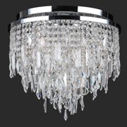 Worldwide Lighting Tempest 5-Light Flush Mount