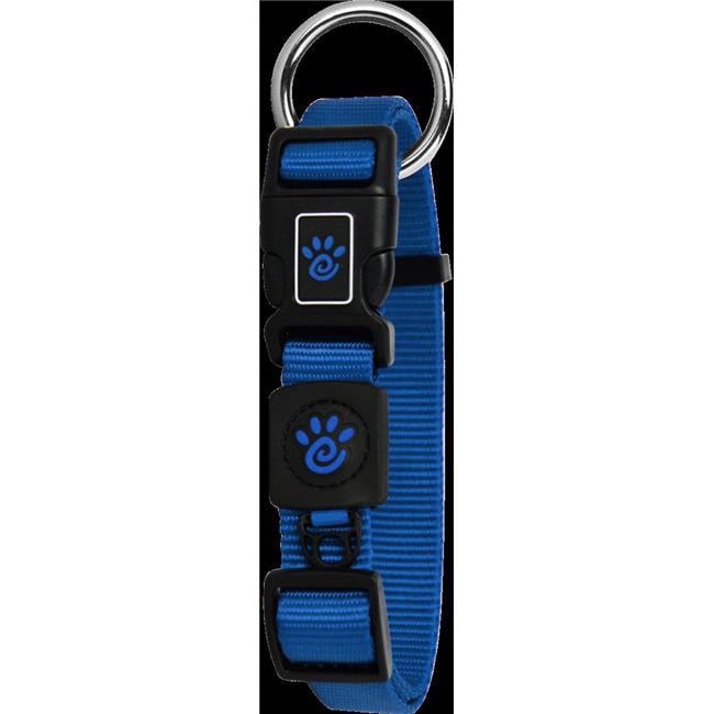 Doco DCS006-02S Signature O-Ring Collar Leash, Blue - Small