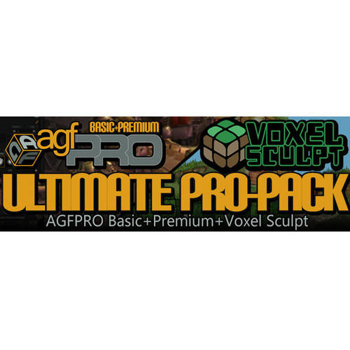 Axis Game Factory Pro 3.0 and Premium 3.0 and Voxel Sculpt ESD(Digital Code) by Axis Game Factory