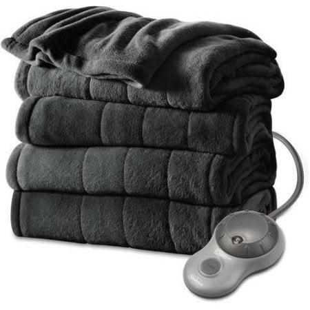Microplush Electric Heated Channeled Blanket, 1 Each by Sunbeam