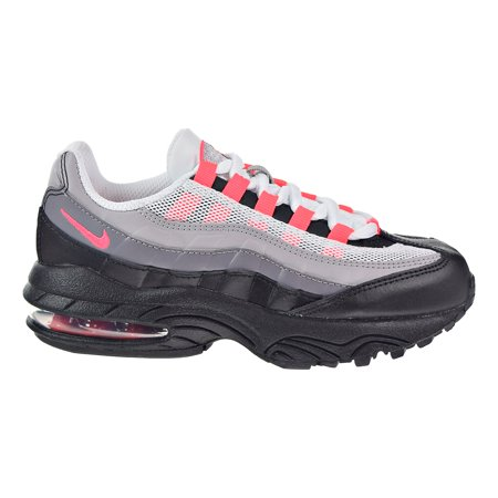 Nike - Nike Air Max  95 Little Kids  Running Shoes Black Solar Red ... 8c38ec27c