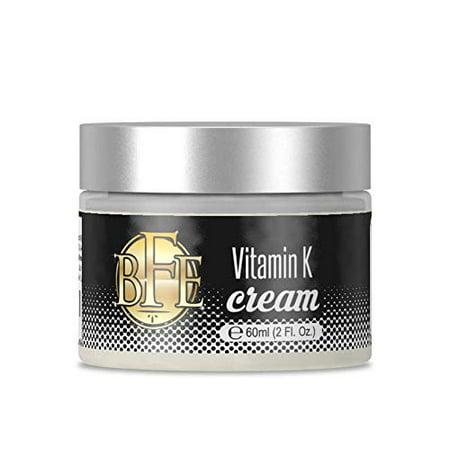 Vitamin K Cream to Clear Bruising Improve Discolored Skin ()