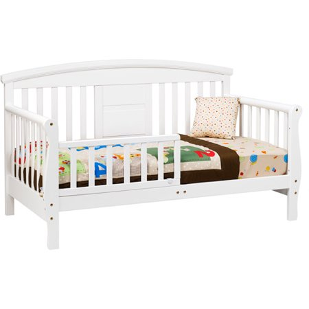 DaVinci Elizabeth II Convertible Toddler Bed White