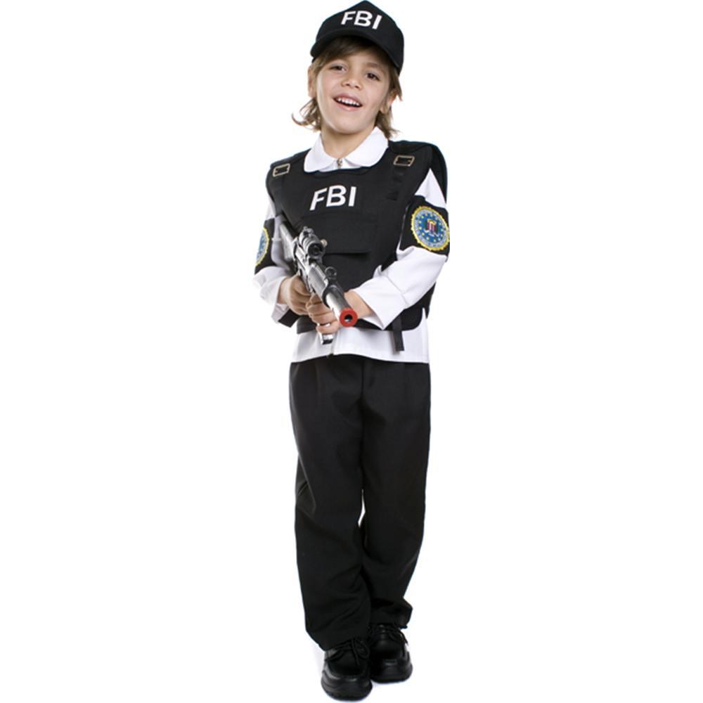 Dress Up America FBI Agent Children's Costume