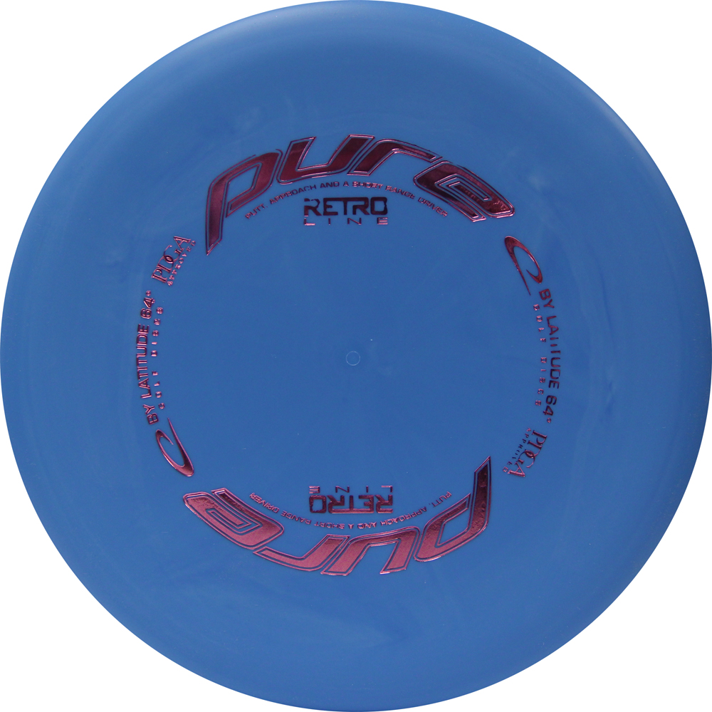 Latitude 64 Retro Pure 173-176g Putter Golf Disc [Colors may vary] - 173-176g