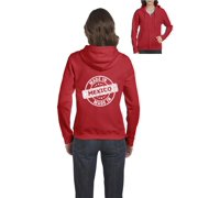 Mexico Hoodie Made in Mexico Mexican Artix Full-Zip Women's Hoodie Clothes