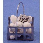 Dollhouse Egg Basket