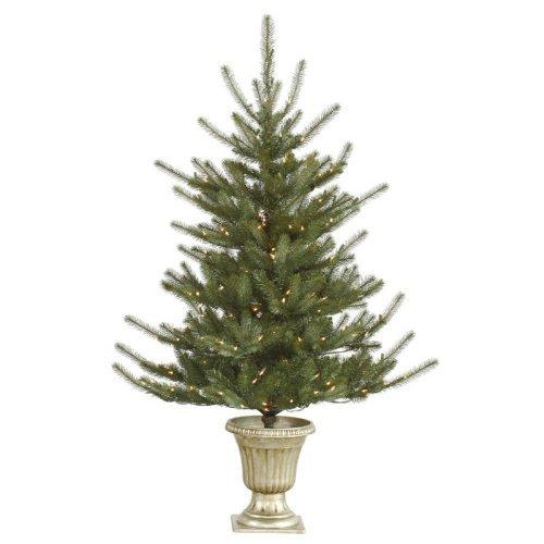 Vickerman 5 ft. Potted Colorado Pre-Lit LED Christmas Tree