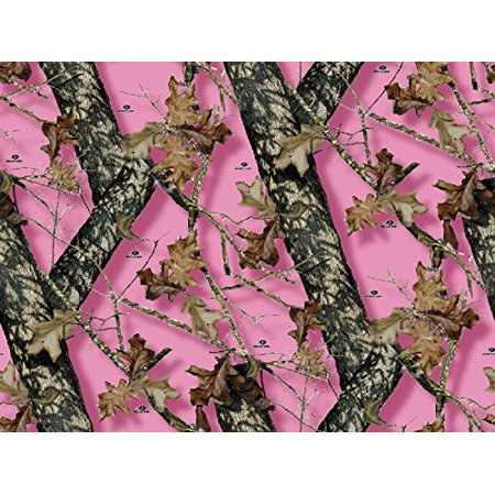 Mossy Oak Pink Camo Branch Edible Cake Topper Frosting 1 4 Sheet Birthday Party